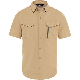 The North Face Sequoia S/S Shirt Herre kelp tan
